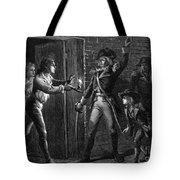 Capture Of Fort Ticonderoga, 1775 Tote Bag