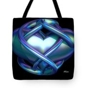 Captured Heart Tote Bag