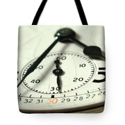 Captured Time Tote Bag