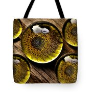 Captured Under Glass Series Group Two Tote Bag