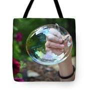 Capturing A Bubble Tote Bag