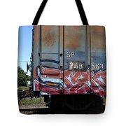 Car 243 Tote Bag