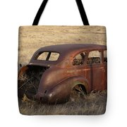 Car At Rust Tote Bag