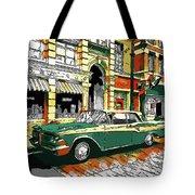 Car Club 1960s Tote Bag