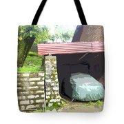 Car Garage Tote Bag