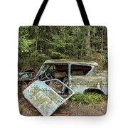 Car Graveyard In Smaland Tote Bag