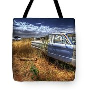 Car Graveyard Tote Bag