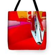 Car Hood Reflection Bump Map Tote Bag
