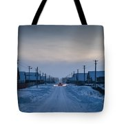 The Road Away From Here Tote Bag