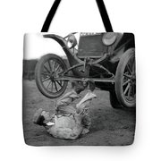 Car Lifter Tote Bag