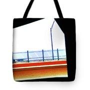 Car On The Bridge Tote Bag