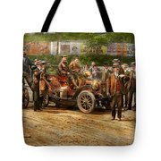 Car - Race - The End Of A Long Journey 1906 Tote Bag