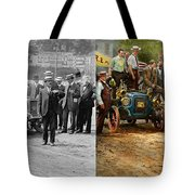 Car - Race - The End Of A Long Journey 1906 - Side By Side Tote Bag