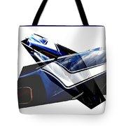 Car Reflection As Art 3 Tote Bag