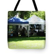 Car Show Booth 2011 Tote Bag