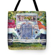 Car Show Tote Bag