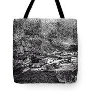 Caradocs Falls 2 Mono Tote Bag