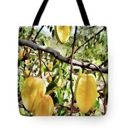 Carambola Fruit On The Tree Tote Bag