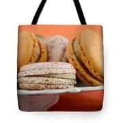 Caramel And Vanilla Macaroons Tote Bag