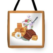 Caramel Chocolate Tote Bag