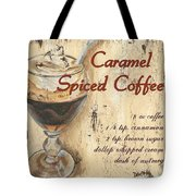Caramel Spiced Coffee Tote Bag