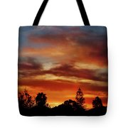 Caramel Sunset Tote Bag