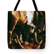 Caravaggio: St. Paul Tote Bag by Granger