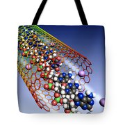 Carbon Nanotube, Ions And Dna Tote Bag