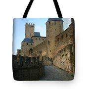 Carcassonne Castle Tote Bag
