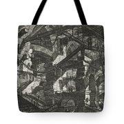 Carceri Series, Plate Xiv Tote Bag
