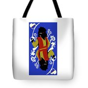 Card Hierarchy Queen Of Hearts Tote Bag