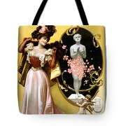 Card New Year Wishes Tote Bag