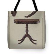 Card Table Tote Bag
