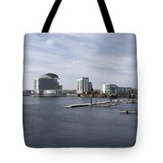 Cardiff Bay 3 Tote Bag