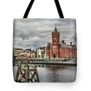 Cardiff Bay Skyline Tote Bag