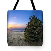 Cardiff Christmas Tree Tote Bag