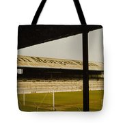 Cardiff - Ninian Park - East Stand Railway Side 1 - 1970s Tote Bag