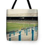 Cardiff - Ninian Park - East Stand Railway Side 3 - August 1991 Tote Bag