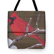 Cardinal 2 Tote Bag
