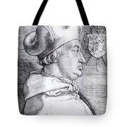 Cardinal Albrecht Of Brandenburg 1523 Tote Bag