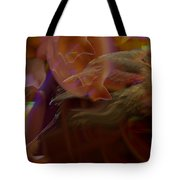 Cardinal And Abstract Tote Bag