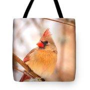 Cardinal Bird Female Tote Bag