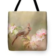 Cardinal Delight Tote Bag