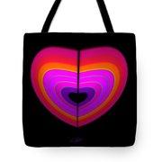 Cardinal Heart Tote Bag