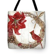 Cardinal Holiday II Tote Bag