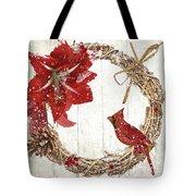 Cardinal Holiday II Tote Bag