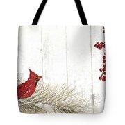 Cardinal Holiday IIi Tote Bag
