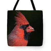 Cardinal Portrait Tote Bag