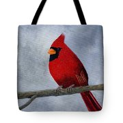 Cardnial Tote Bag by Tracey Goodwin