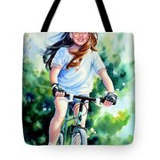 Carefree Summer Day Tote Bag